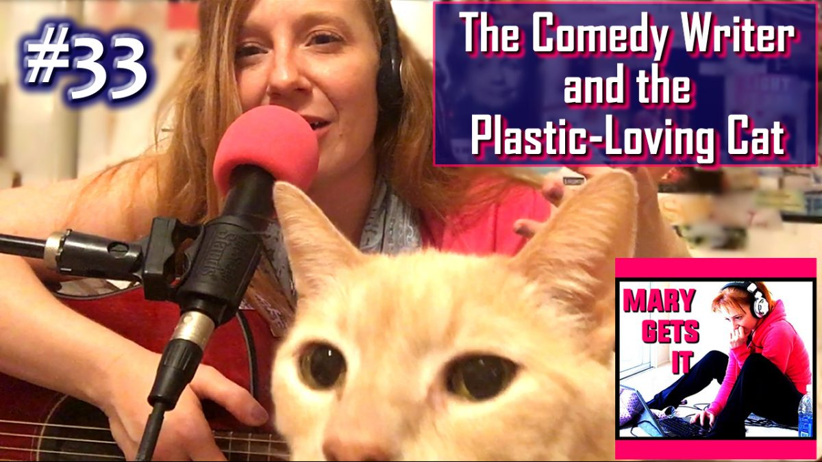 Crabisode 33 – The Comedy Writer and the Plastic-Loving Cat